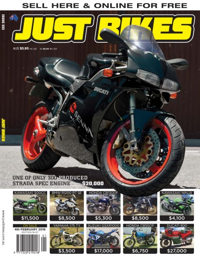 JUST BIKES issue 16-007