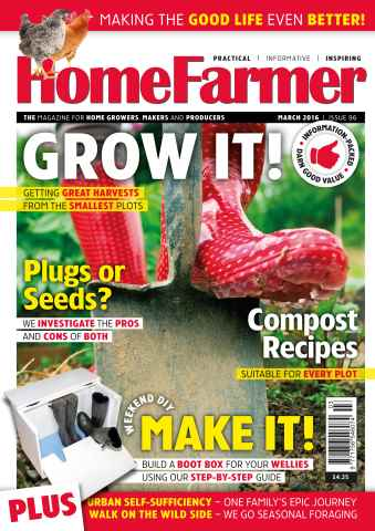 Home Farmer Magazine issue March 2016 issue