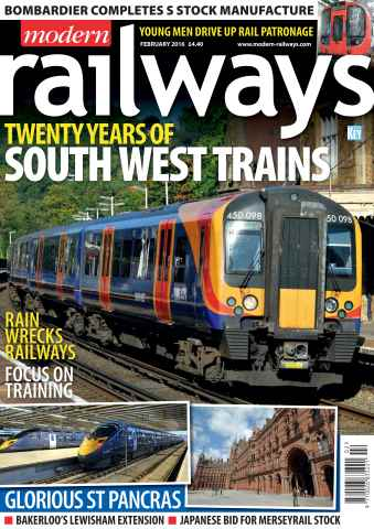 Modern Railways issue February 2016