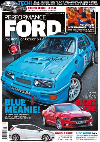 Performance Ford issue February 2016