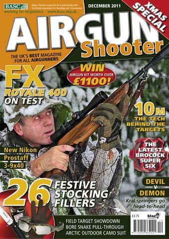 Airgun Shooter issue December 2011