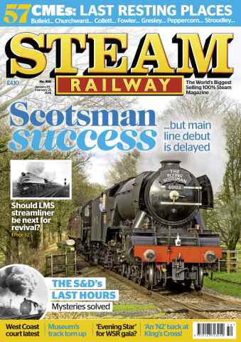 Steam Railway issue Issue 450