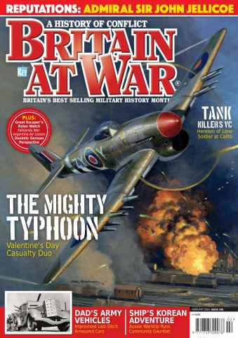 Britain at War Magazine issue February 2016