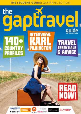 The Gap Travel Guide issue The Gaptravel Guide 2016