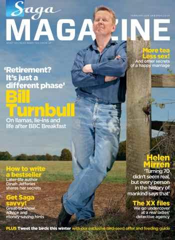 Saga Magazine issue February  2016 - Saga Magazine