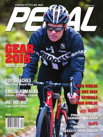 Pedal Magazine issue Winter 2015