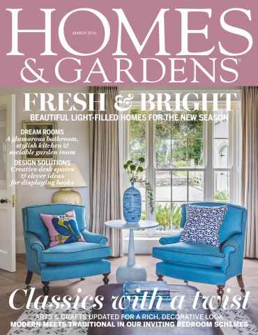 Homes & Gardens issue March 2016