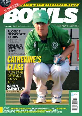 Bowls International issue February 2016