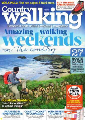 Country Walking issue March 2016