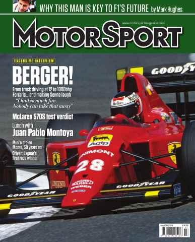 Motor Sport Magazine issue March 2016