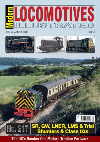 Modern Locomotives Illustrated issue Issue 217