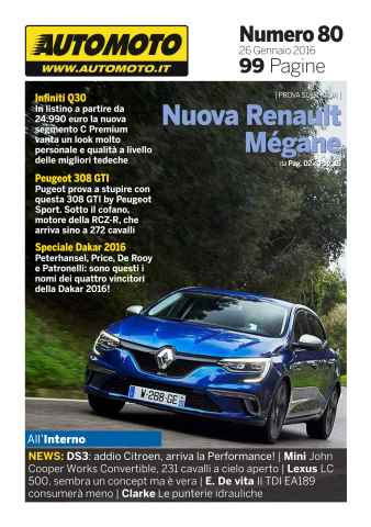 Automoto.it Magazine issue Automoto.it Magazine n. 80