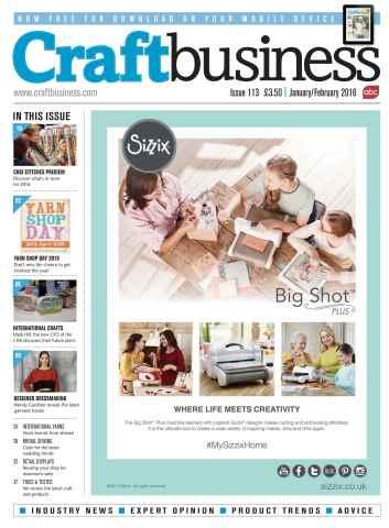 Craft Business issue Jan/Feb 16