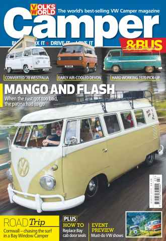 VW Camper issue March 2016