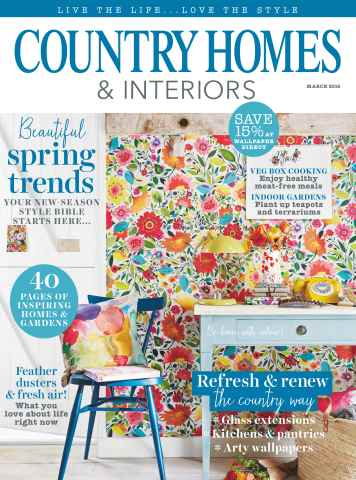 Country Homes & Interiors issue March 2016