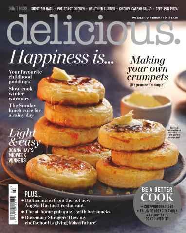 Delicious Magazine issue February 2016