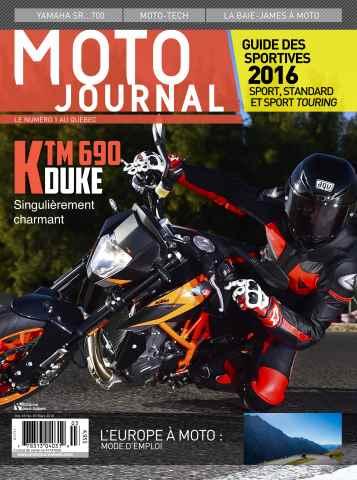 Moto Journal issue Mars 2016