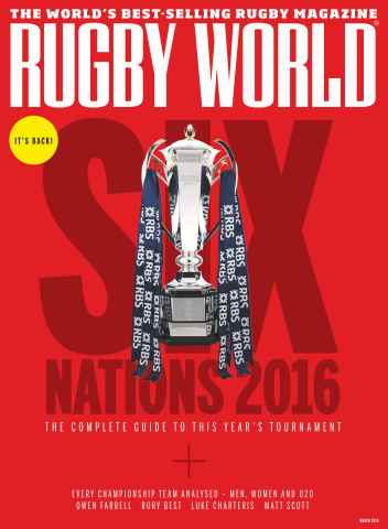 Rugby World issue March 2016