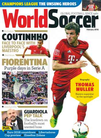 World Soccer issue February 2016