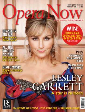 Opera Now issue February 2016