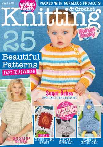 Knitting & Crochet issue March 2016