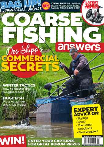 Coarse Fishing Answers issue March 2016
