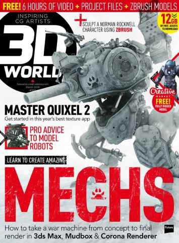 3D World issue March 2016