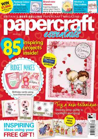 Papercraft Essentials issue 130