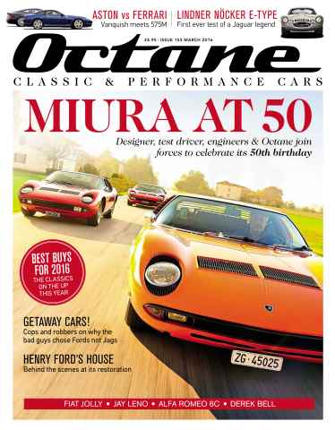 Octane issue March 2016