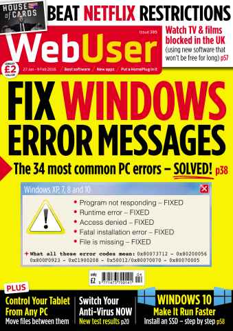 Webuser issue 389