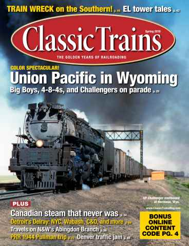 Classic Trains issue March 2016