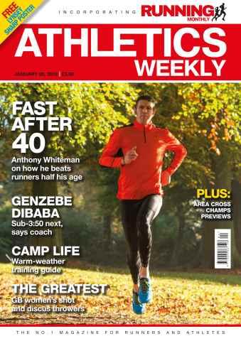 Athletics Weekly issue 28/01/2016