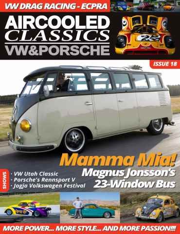 Aircooled Classics - VW & Porsche issue Issue18: Feb-Apr 16