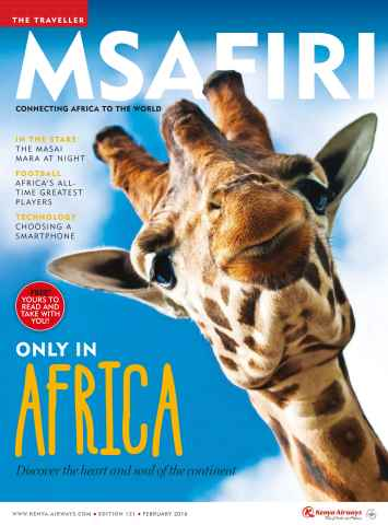 MSAFIRI – Kenya Airways Inflight issue February 2016