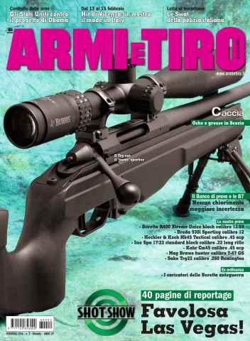 Armi E Tiro issue febbraio 2016