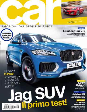 CAR magazine Italia issue SETTANTASETTE