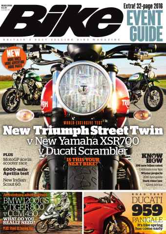 Bike issue March 2016