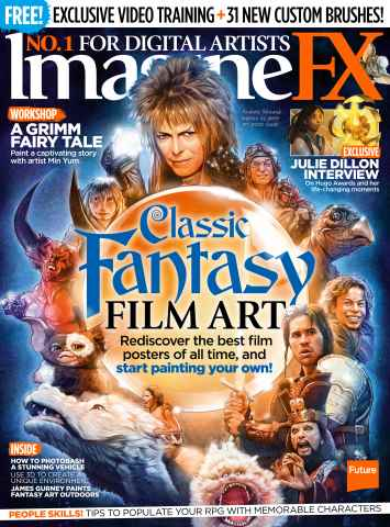 ImagineFX issue March 2016