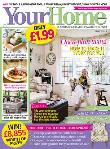 Your Home Magazine issue March 2016