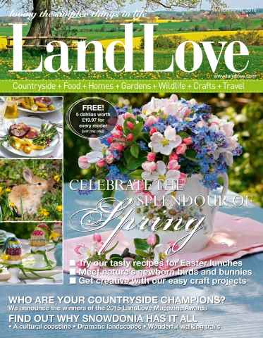 LandLove Magazine issue March/April 2016