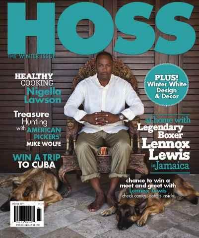 HOSS Magazine issue HOSS WINTER 2016