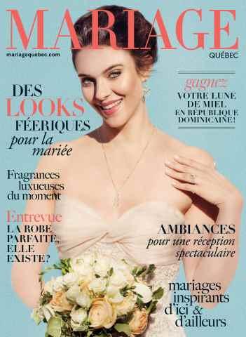 Mariage Quebec issue PRINTEMPS-ÉTÉ 2016