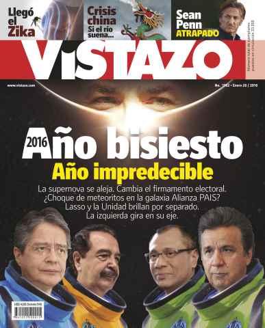 Revista Vistazo issue VISTAZO 1162