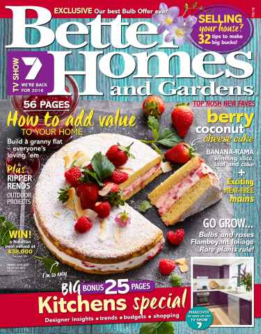 Better Homes and Gardens Australia issue March 2016