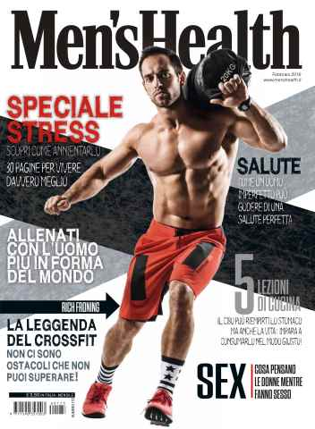 Men's Health Italia issue Men's Health 2 2016