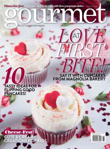 Gourmet issue February