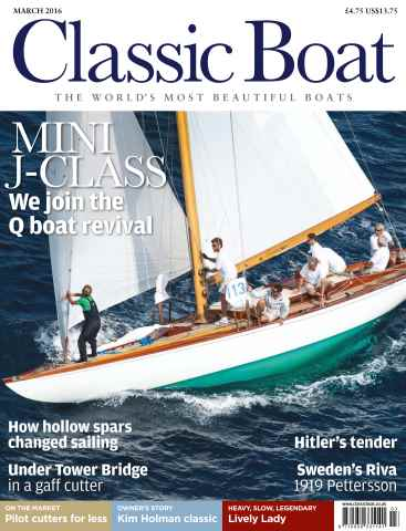 Classic Boat issue March 2016