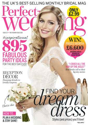 Perfect Wedding issue Fashion Special 2016