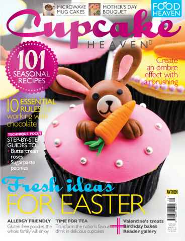 Cupcake Heaven issue Spring 2016