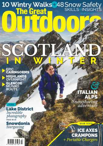 TGO - The Great Outdoors Magazine issue March 2016